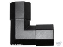 Brateck CC50-JB 50x26mm Corner Joint Black