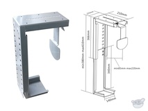 Brateck CPT-07 Under Desk PC Holder
