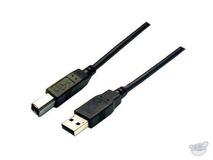 Dynamix 2M USB 2.0 A to B (Black)