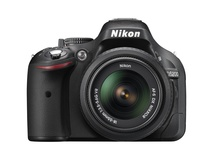 Nikon D5200 DSLR Camera with 18-55mm Lens (Black)
