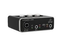 Behringer UM2 U-Phoria 2x2 USB Audio Interface with XENYX Mic Preamps