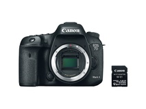 Canon EOS 7D Mark II DSLR Camera Body with W-E1 Wi-Fi Adapter