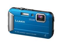 Panasonic Lumix DMC-TS30 Digital Camera (Blue Body)