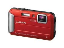 Panasonic Lumix DMC-FT30GN-R Digital Camera (Red Body)