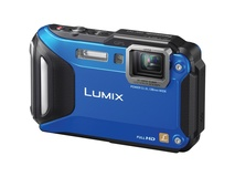 Panasonic Lumix DMC-TS5 Digital Camera (Blue Body)