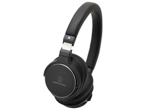 Audio Technica ATH-SR5BT BK Wireless On-Ear High-Resolution Audio Headphones (Black)