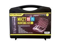 NITECORE MH27 Night Hunting Kit - 1000 Lumen LED Flashlight with Accessory Kit
