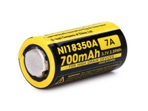 NITECORE NI18350A Flat Top Battery