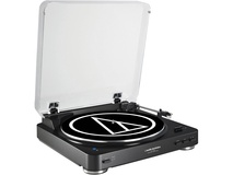 Audio-Technica AT-LP60BK-BT Turntable with Bluetooth (Black)