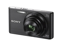 Sony DSCW830 Digital Camera (Black)