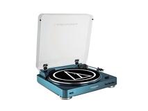 Audio Technica AT-LP60 Belt-Drive Turntable (Blue)