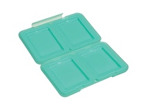 Ruggard Memory Card Case for 4 Compact Flash or CFast Cards (Light Green)