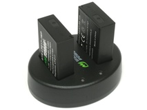 Wasabi Power Battery and Dual USB Charger for Canon LP-E17 (2-Pack) (Not decoded)