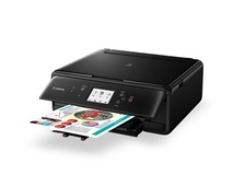 Canon TS6060 PIXMA Inkjet Printer (Black)