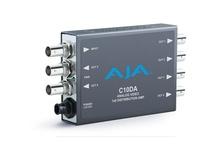 AJA C10DA Analog BNC 1x6 Distribution Amplifier with NTSC & PAL Support