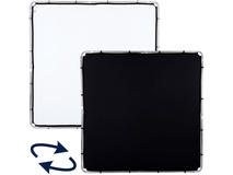 Lastolite Skylite Rapid Black/White Fabric Reflector (2.0 x 2.0m)