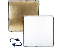 Lastolite Skylite Rapid Gold/Silver Fabric Reflector (2.0 x 2.0m)