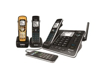 Uniden XDECT long Range Triple with Answer Machine and ruggedized Handset