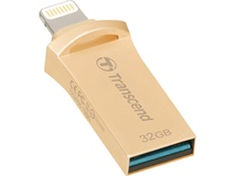 Transcend JetDrive Go 500 Mobile Storage for iOS Devices (32GB, Gold)