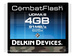 Delkin CombatFlash Card 4GB