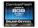 Delkin Combat Compact Flash Card 8GB