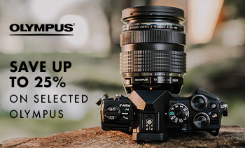25% off selected Olympus