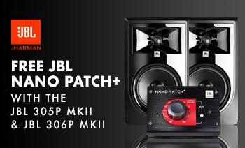 FREE JBL Nano Patch with JBL 306P MKII and JBL 305P MKI
