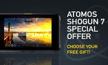 Atomos Shogun 7 Free Gift