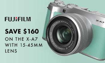 Save $160 Fujifilm X-A7