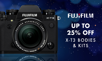 Up to 20% off Fujifilm X-T3