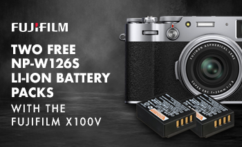 Two Free Fujifilm Battery Packs with X100V