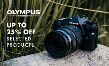 Up to 25% off Olympus
