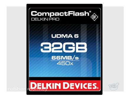 Delkin CompactFlash PRO Card 32GB