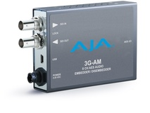 AJA 3G-AM-XLR 8-Channel AES Embedder/Disembedder with XLR Connector Cable