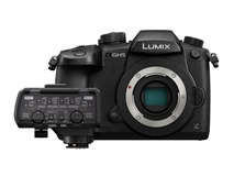 Panasonic Lumix GH5 Digital Camera (Body Only) with DMW-XLR1 XLR Microphone Adapter