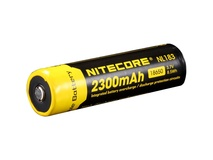 Nitecore 18650 Li-Ion Rechargeable Battery (2300mAh)