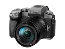 Panasonic Lumix DMC-G7 Mirrorless Micro Four Thirds Digital Camera with 14-140mm Lens (Silver Body)