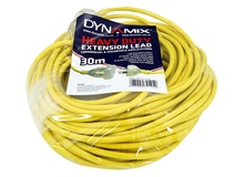 Dynamix 30M Heavy Duty Power Extension Lead