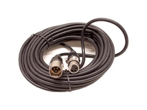 Elation Professional Extension Cable for Antari Remote Control with 4-pin XLR Connector (25')