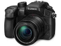Panasonic Lumix DMC-GH4 4K Mirrorless Micro Four Thirds Digital Camera with 12-60mm f/3.5-5.6 Lens