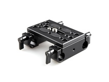 SmallRig 1775 Mounting Plate with 15mm Rod Clamps