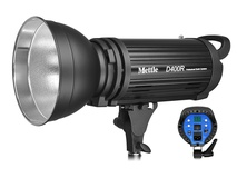 Mettle D400R Professional High Speed Flash - 400W - Stroboscopic