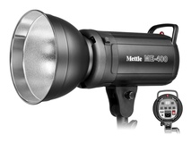 Mettle ME400 Location Flash - 400W with Carry Bag