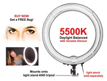 Mettle RL75 75W Fluorescent Ringlight - 5500K
