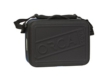 ORCA OR-69 Hard Shell Accessories Bag (Large, Black)