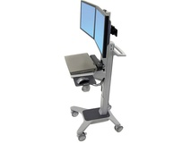 Ergotron Neo-Flex Dual WideView WorkSpace Cart