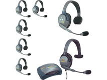 Eartec HUB7SMXS UltraLITE 7-Person HUB Intercom System