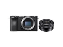 Sony Alpha a6500 Mirrorless Digital Camera with 16-50mm Lens Kit