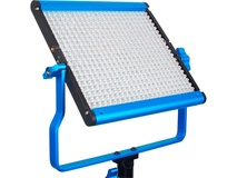 Dracast LED500 Silver Series Daylight LED Light with 2x NP-F Battery Plates