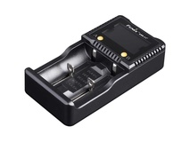 Fenix Flashlight ARE-C1+ Dual-Channel Smart Charger Plus for Li-Ion, NiMH, and Ni-Cd Batteries